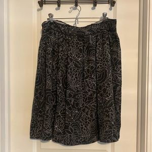 Anthropologie Colloquial A-Line Skirt
